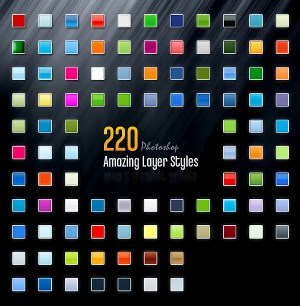 220 Amazing Photoshop Layer Styles